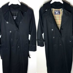 BURERRY Nova Check Lined Zip-In Liner Trench Coat